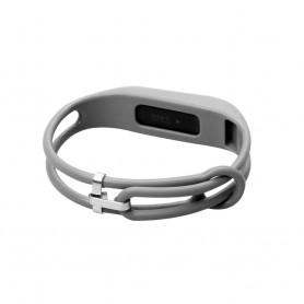 NedRo - Click On TPU armband voor Fitbit Flex - Armbanden - AL186-GY www.NedRo.nl
