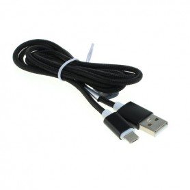 OTB, 2-in-1 data cable iPhone / Micro-USB - Nylon sheath 1M, Other data cables , ON5064-CB, EtronixCenter.com