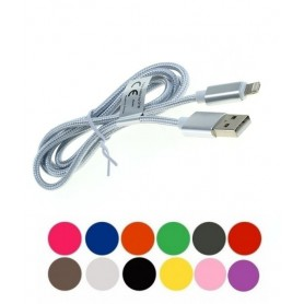 NedRo - 2-in-1 Datenkabel iPhone / Micro-USB - Nylonmantel 1M - Other data cables  - ON5064 www.NedRo.us