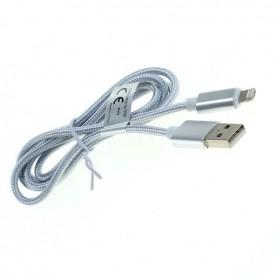 OTB - 2-in-1 Datakabel iPhone / Micro-USB - Nylonmantel 1M - Diverse datakabels - ON5064-C-CB www.NedRo.nl