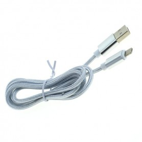 OTB - 2-in-1 data cable iPhone / Micro-USB - Nylon sheath 1M - Other data cables  - ON5064-C www.NedRo.us