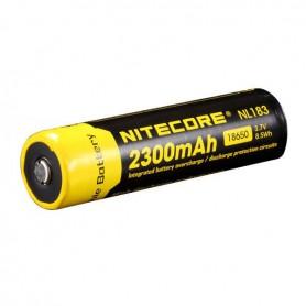 NITECORE - Nitecore 18650 li-ion NL1823 2300mAh 3.7V - 18650 formaat - BS038-2x www.NedRo.nl