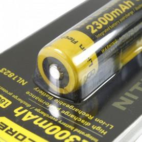 NITECORE, Nitecore 18650 li-ion NL1823 2300mAh 3.7V, Size 18650, BS038-CB, EtronixCenter.com