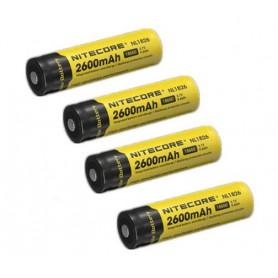 NITECORE - Nitecore 18650 li-ion NL1826 2600mAh 3.7V - Format 18650 - BS039-CB www.NedRo.ro