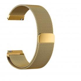 NedRo, Bratara metalica Milano pentru Fitbit Blaze cu inchidere magnetica, Bratari, AL484-CB, EtronixCenter.com