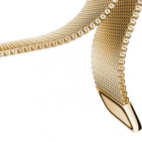 NedRo - Metalen armband voor Fitbit Blaze frame magneet slot - Armbanden - AL484-GL-L www.NedRo.nl
