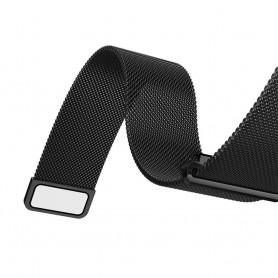NedRo - Metalen armband voor Fitbit Blaze frame magneet slot - Armbanden - AL484-CB www.NedRo.nl