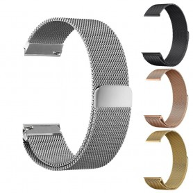 NedRo - Metal bracelet for Fitbit Blaze frame magnetic closure - Bracelets - AL484-CB www.NedRo.us