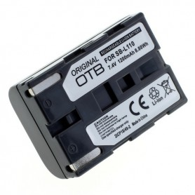 OTB, Accu voor Samsung SB-L110 1200mAh Li-Ion, Samsung FVB foto-video batterijen, ON2844, EtronixCenter.com