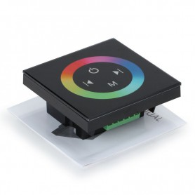 NedRo, 12V-24V 12A Touch RGB LED Controller, LED Accessories, LCR38, EtronixCenter.com