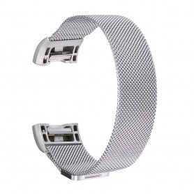 NedRo, Metal bracelet for Fitbit Charge 2 magnetic closure, Bracelets, AL188-CB