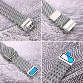 Oem - Metal bracelet for Fitbit Charge 2 magnetic closure - Bracelets - AL188-CB