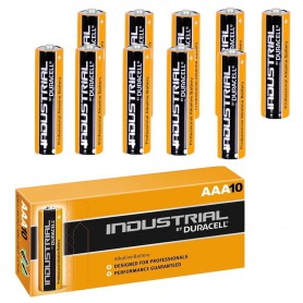 Duracell, 10x Baterie alcalină Duracell Industrial LR03 AAA, Format AAA, NK269-CB, EtronixCenter.com