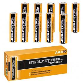 Duracell - Duracell Industrial LR03 AAA alkaline battery - Size AAA - NK269-CB www.NedRo.us