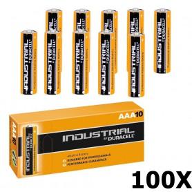 Duracell - Duracell Industrial LR03 AAA alkaline batterijen - AAA formaat - NK269-100x www.NedRo.nl