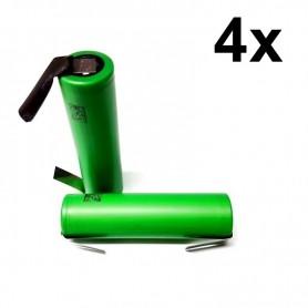 Sony - Sony Konion US18650V3 2250mAh 18650 3.7V 10A Rechargeable - Size 18650 - NK116-4x www.NedRo.us