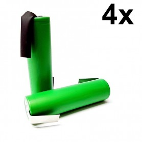 Sony - Sony Konion US18650V3 2250mAh 18650 3.7V 10A Rechargeable - Size 18650 - NK117-4x www.NedRo.us