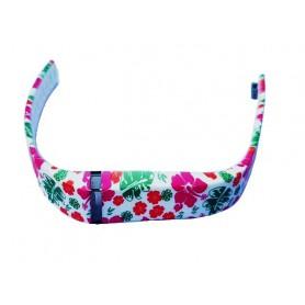 NedRo, FloralFlex TPU armband voor Fitbit Flex, Armbanden, AL180-CB, EtronixCenter.com
