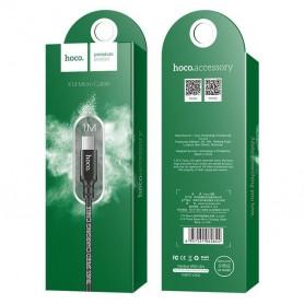 HOCO - Hoco Premium Micro USB naar USB 2.0 2A data kabel - USB naar Micro USB kabels - H002-ZW-1M www.NedRo.nl