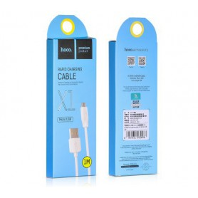 HOCO, Hoco Premium Micro USB to USB 2.0 2.1A Data Cable, USB to Micro USB cables, H003, EtronixCenter.com