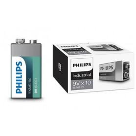 PHILIPS - Philips Industrial 9V 6LR61 alkalinebatterij - C D 4.5V XL formaat - BS042-30x www.NedRo.nl
