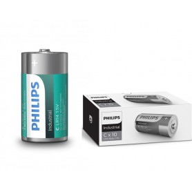 PHILIPS - Philips Industrial C/LR14 alkalinebatterij - C D 4.5V XL formaat - BS044-20x www.NedRo.nl