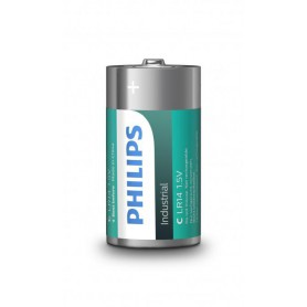 PHILIPS - Philips IndustrialC/LR14 Alkaline - Size C D 4.5V XL - BS044-CB