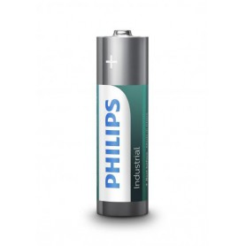 PHILIPS - AA R3 Philips Industrial Power Alkaline - Format AA - BS045-50x www.NedRo.ro
