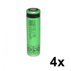 Sony - Sony US14500VR2 680mAh 3.7V 14x49mm rechargeable battery - Other formats - NK222-FT-4x www.NedRo.us