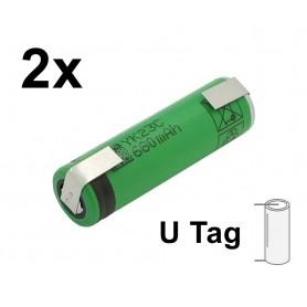 Sony - Sony US14500VR2 680mAh 3.7V 14x49mm oplaadbare batterij - Andere formaten - NK222-U-2x www.NedRo.nl