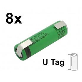 Sony - Sony US14500VR2 680mAh 3.7V 14x49mm oplaadbare batterij - Andere formaten - NK222-U-8x www.NedRo.nl