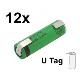 Sony - Sony US14500VR2 680mAh 3.7V 14x49mm oplaadbare batterij - Andere formaten - NK222-U-12x www.NedRo.nl