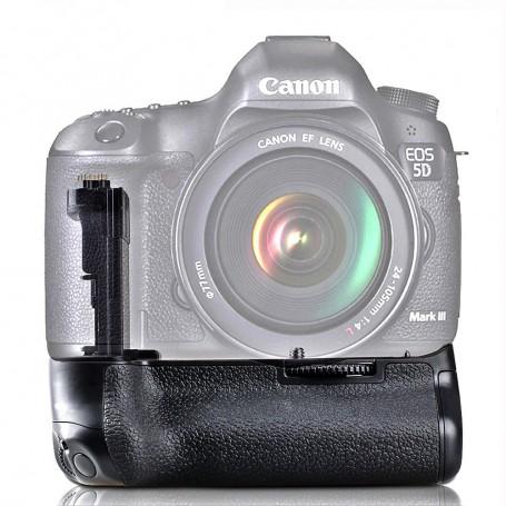 Travor, Batterij grip compatibel met Canon 5D Mark III 5D3 5DS 5DSR BG-E11, Canon foto-video batterijen, AL195, EtronixCenter...
