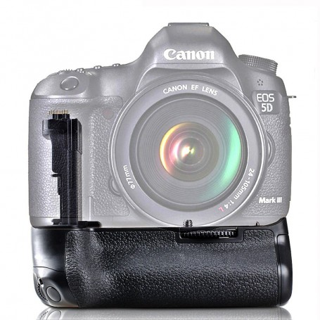 Travor - Battery Grip compatible with Canon 5D Mark III 5D3 5DS 5DSR BG-E11 - Canon photo-video batteries - AL195 www.NedRo.us