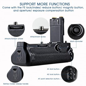 Travor, Battery Grip compatible with Canon 5D Mark III 5D3 5DS 5DSR BG-E11, Canon photo-video batteries, AL195