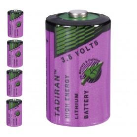Tadiran - Tadiran SL-750 / 1/2 AA Lithium batterij 3.6V - Andere formaten - NK179-5x www.NedRo.nl