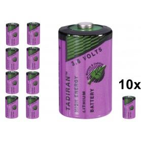 Tadiran - Tadiran SL-750 / 1/2 AA Lithium batterij 3.6V - Andere formaten - NK179-10x www.NedRo.nl