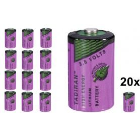 Tadiran - Tadiran SL-750 / 1/2 AA Lithium batterij 3.6V - Andere formaten - NK179-20x www.NedRo.nl