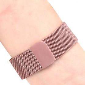 NedRo, Bratara metalica pentru Fitbit Charge 2 cu inchidere magnetica, Bratari, AL188-CB, EtronixCenter.com