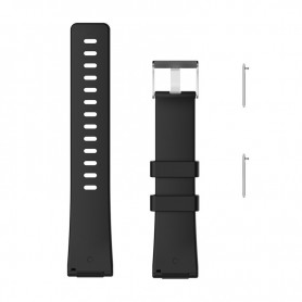 NedRo - Siliconen armband bandtje polsband voor Fitbit Versa - Armbanden - AL202-BL-S www.NedRo.nl