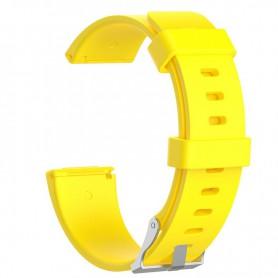 NedRo - Siliconen armband bandtje polsband voor Fitbit Versa - Armbanden - AL202-YE-L www.NedRo.nl