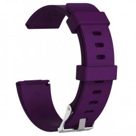NedRo - Siliconen armband bandtje polsband voor Fitbit Versa - Armbanden - AL202-PA-L www.NedRo.nl