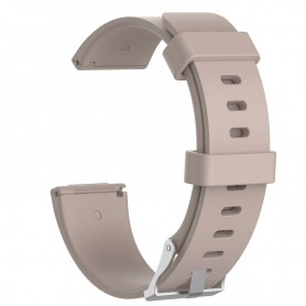 NedRo - Siliconen armband bandtje polsband voor Fitbit Versa - Armbanden - AL202-CB www.NedRo.nl