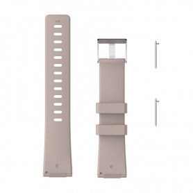 NedRo - Siliconen armband bandtje polsband voor Fitbit Versa - Armbanden - AL202-BE-S www.NedRo.nl