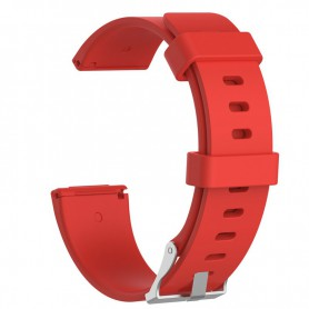 NedRo - Siliconen armband bandtje polsband voor Fitbit Versa - Armbanden - AL202-RE-L www.NedRo.nl