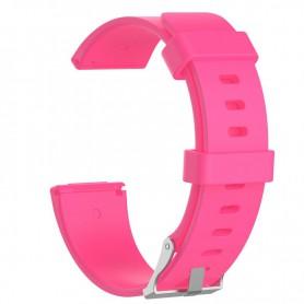 NedRo - Siliconen armband bandtje polsband voor Fitbit Versa - Armbanden - AL202-PI-S www.NedRo.nl
