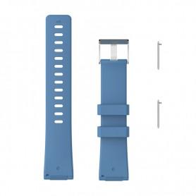 NedRo - Siliconen armband bandtje polsband voor Fitbit Versa - Armbanden - AL202-BU-L www.NedRo.nl