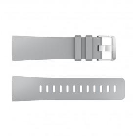 NedRo - Siliconen armband bandtje polsband voor Fitbit Versa - Armbanden - AL202-GY-S www.NedRo.nl
