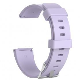 NedRo - Siliconen armband bandtje polsband voor Fitbit Versa - Armbanden - AL202-LP-S www.NedRo.nl