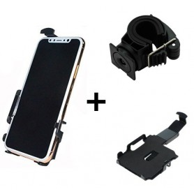 Haicom - Haicom bicycle phone holder for Apple iPhone X HI-506 - Bicycle phone holder - ON5072-SET www.NedRo.us